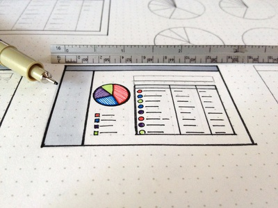 Mmm… Pie! wireframes micron dotgrid analytics infographics charts pie charts graphs tables pie dataviz data visualization madewith:ink