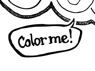 Color Me Jealous (detail)