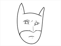 Concerned Batman