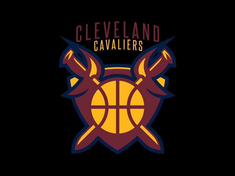 Cleveland Cavaliers Logo Redesign Day 6 Of 31 By Anthony Salzarulo