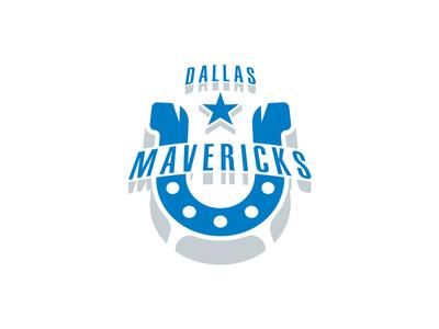 Dallas Mavericks Logo Redesign - Day 7 of 31