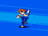 Chun Li game gaming pixel pixel art illustration