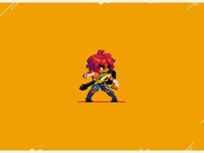 Cherry Hunter game gaming pixel pixel art illustration