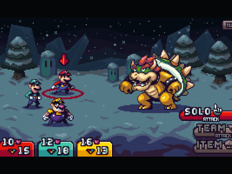 mario rpg mockup by phil giarrusso dribbble