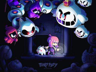 Candies 'n Curses! gaming design game illustration
