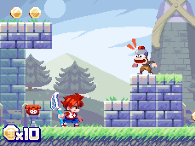 Ape Escape!? design game gaming pixel pixel art illustration