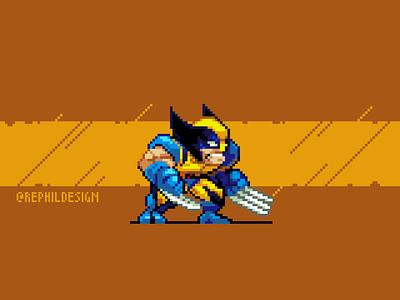 Berserker Boy gaming game illustration pixel art pixel