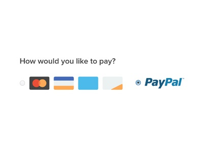 Checkout branding colors guidelines ecommerce shopping checkout paypal visa mastercard american express