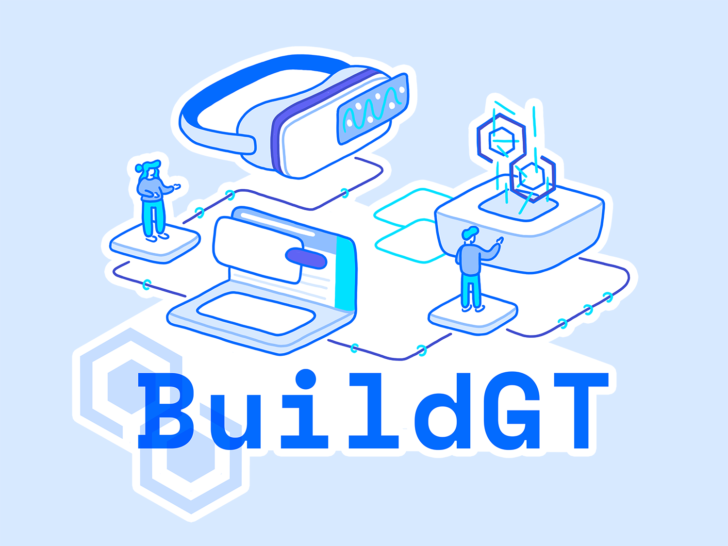 BuildGT Sticker buildgt hackathon hackgt