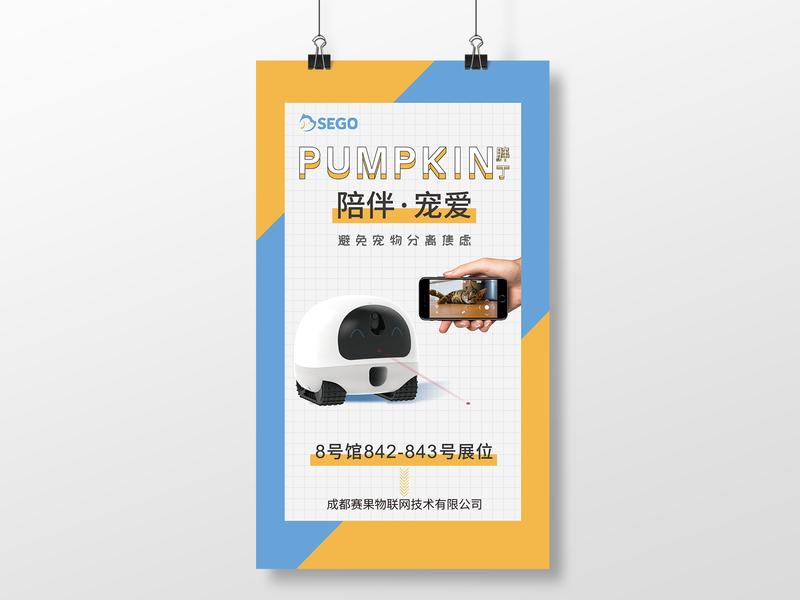 Pumpkin branding layout design font design poster