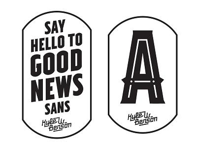 Good News Patches good news typeface development font patches