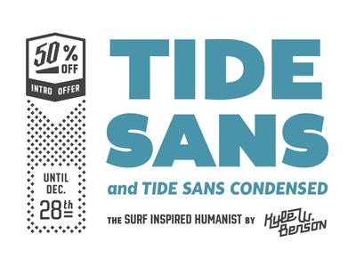 Tide Sans Released tides in tide sans typeface type typefamily release