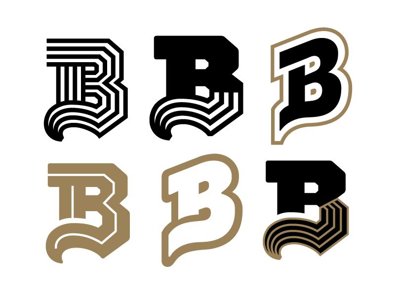 The letter b by kyle wayne benson on dribbble for Logo b b