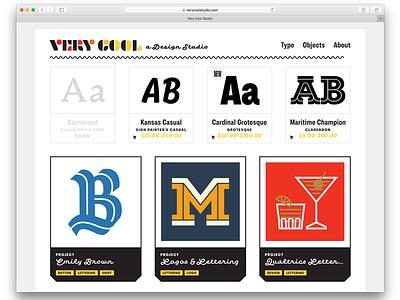 VeryCool.Studio mid-century code animation css front end development webdesign