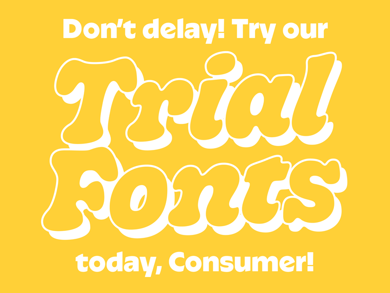 Trial Fonts Pt 2 by Kyle Wayne Benson on Dribbble