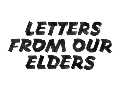 Letters From Our Elders Pt 2 one stroke casual lettering sign painting sign writing