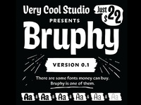 Introducing: Bruphy!