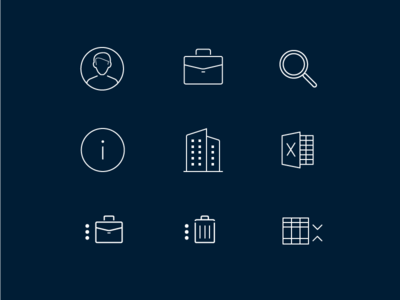 Wisall Icons saas gui ui icons
