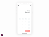 Dailyui 004 Calculater