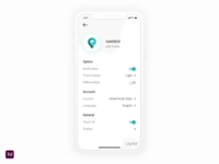 Dailyui 007 Settings