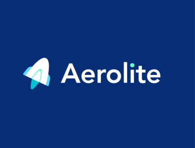 Aerolite Logo vector navy blue aerolite dailylogochallenge branding illustration logotype logo design logo