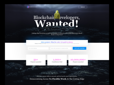 INVITE LANDING PAGE