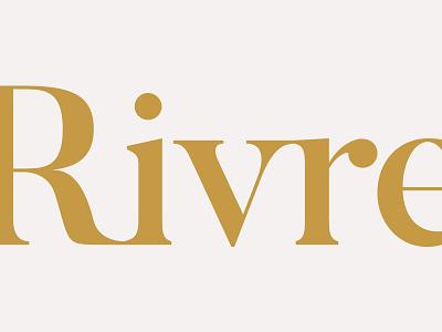 Rivre branding logo