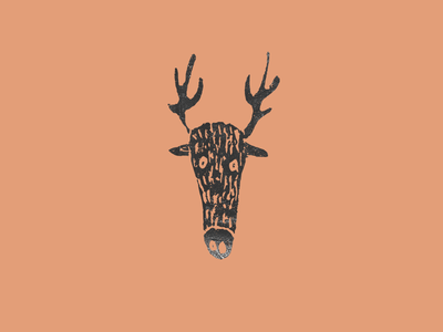 Deer deer drawing handstyle graphicdesign forest