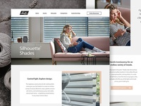 Luxaflex Product Pages