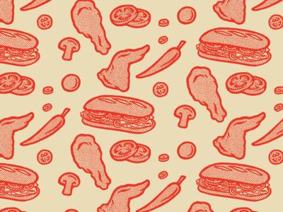 Food Spot Illustrations