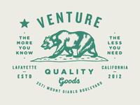 Venture Quality Goods - Shirt Design