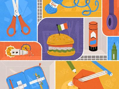 Kaleidoscienza Insta imagination create science stayhome activities illustration