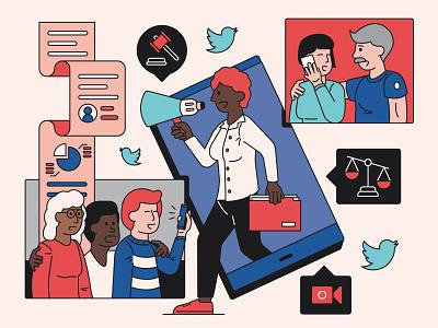 Legal Innovation pandemic innovation illustration socialmedia law legal twitter