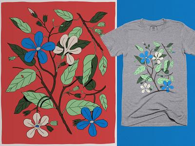 Botanical Collection tees tshirt plants illustration