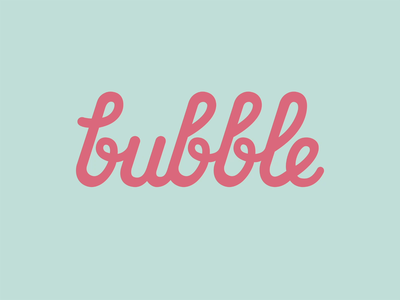 Bubble Studio Visual Identity