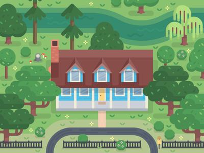 Little Acadian River House