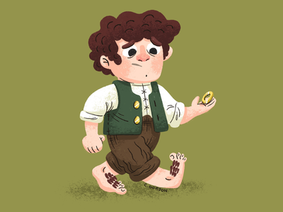 #SMAUGUST Art Challenge 1 | Frodo
