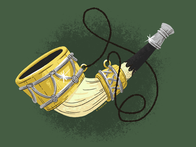 #SMAUGUST Art Challenge 8 | Horn of Gondor