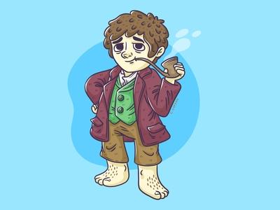 #SMAUGUST Art Challenge 12 | Bilbo Baggins