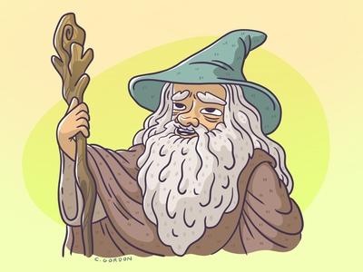 #SMAUGUST Art Challenge 16 | Gandalf