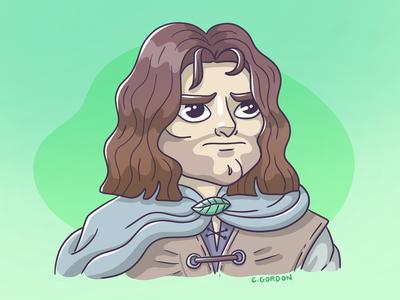#SMAUGUST Art Challenge 21 | Aragorn
