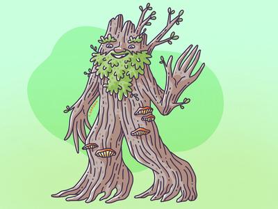 #SMAUGUST Art Challenge 28 | Treebeard