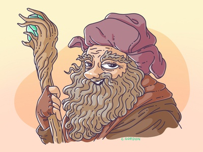 #SMAUGUST Art Challenge 29 | Radagast radagast wizard the hobbit draw daily smaugust lotr lord of the rings art challenge procreate digital illustration illustration