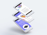 Courseware Hotsite | UX.UI Design