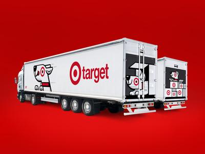 Target Semi Truck