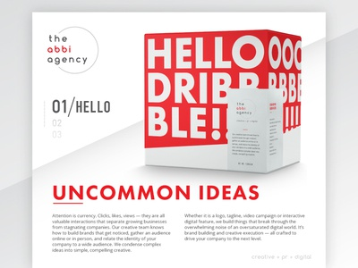 Hello Dribbble! reno design debut creative branding agency reno nevada design logo