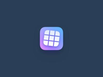 Pic splitter app icon