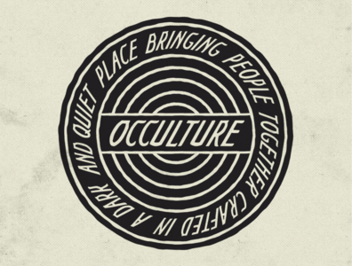 Occulture Badge
