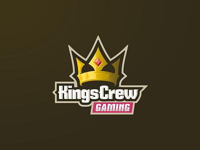 Kings Crew Gaming gaming king crown esports community clan team fortress team logo