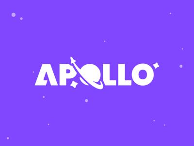 Apollo spaceship rocket stars space cosmos